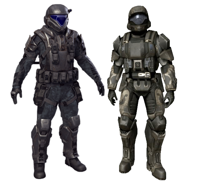 Odst Battle Dress Uniform Armor Halopedia The Halo Wiki