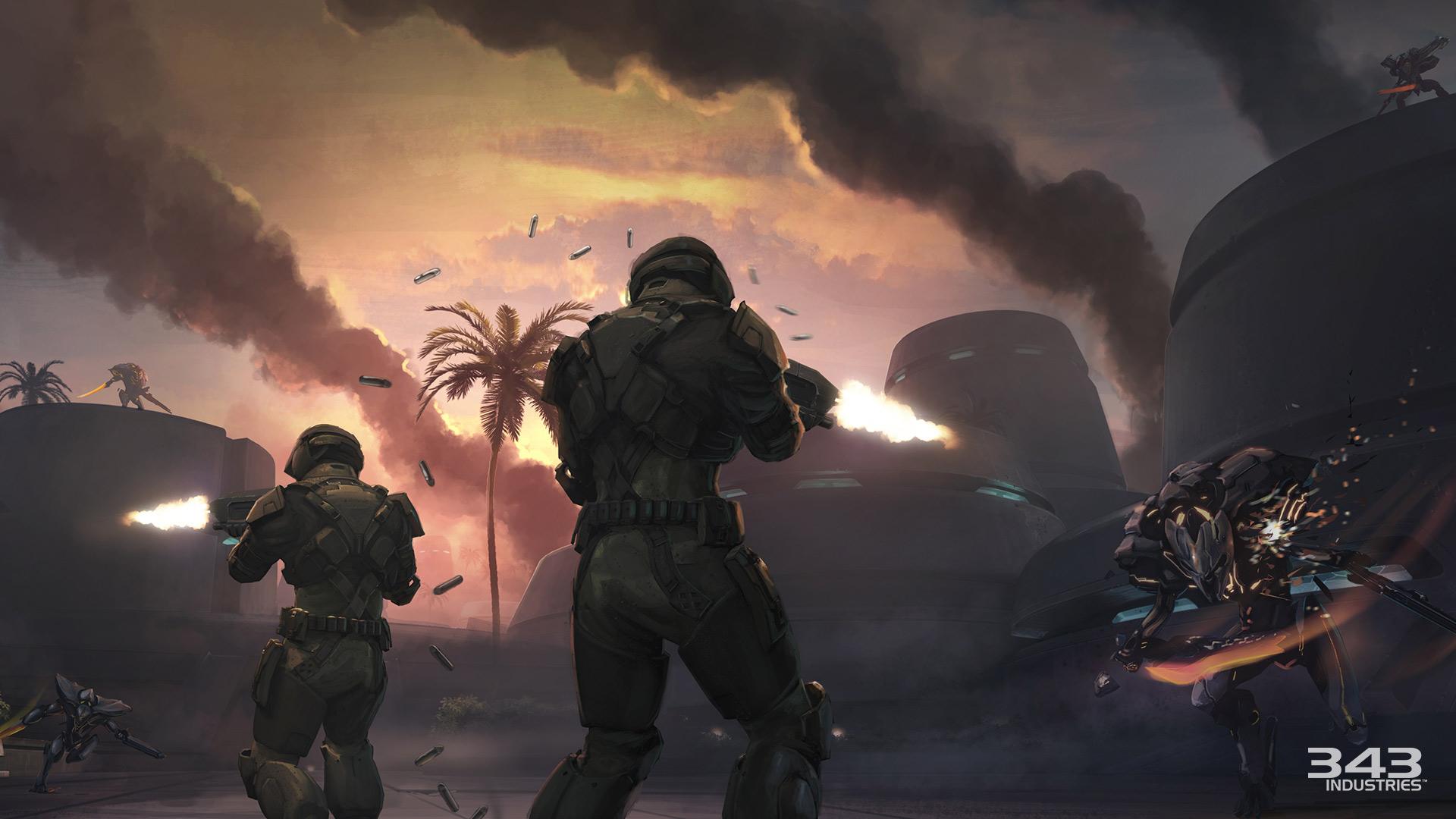 Unsc Marines Halo 2 Anniversary Halo 2 Anniversary Marine