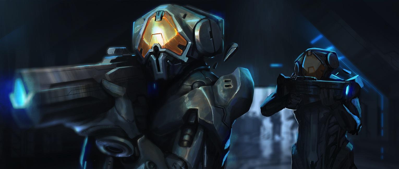 ancient human armor vs forerunner armor halo universe
