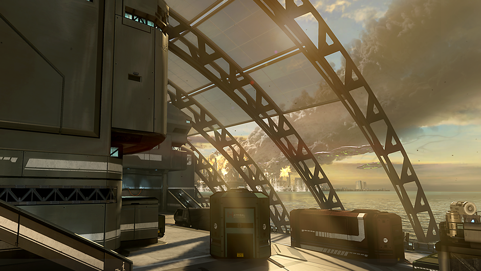 Landfall Multiplayer Map Halo 4 Halopedia The Halo Wiki