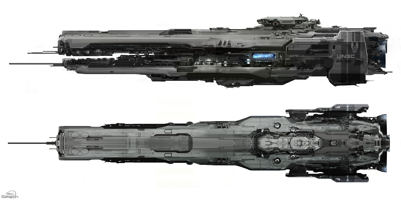 What Are Halcyon Class Cruisers Doing In H4 Halo 4