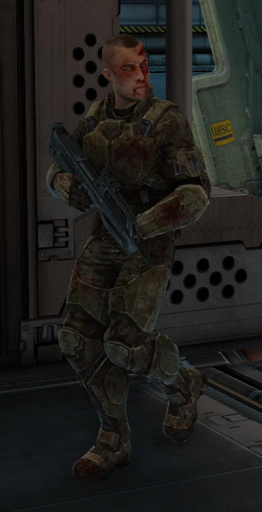 Bloody UNSC Marine - Halopedia, the Halo encyclopedia
