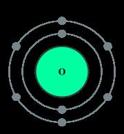 Oxygen halopedia the halo encyclopedia diagram of the oxygen atom sciox Gallery