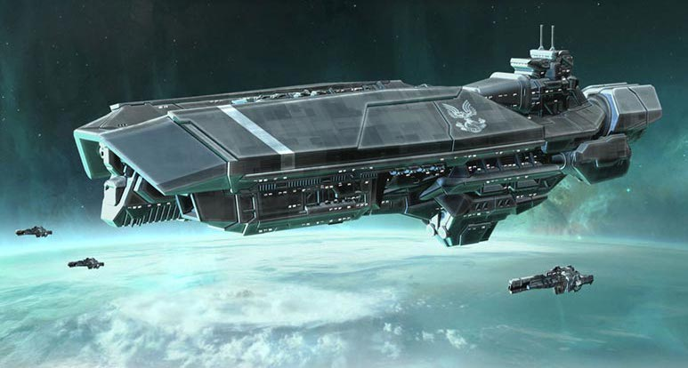 Orion Class Assault Carrier Halopedia The Halo Encyclopedia