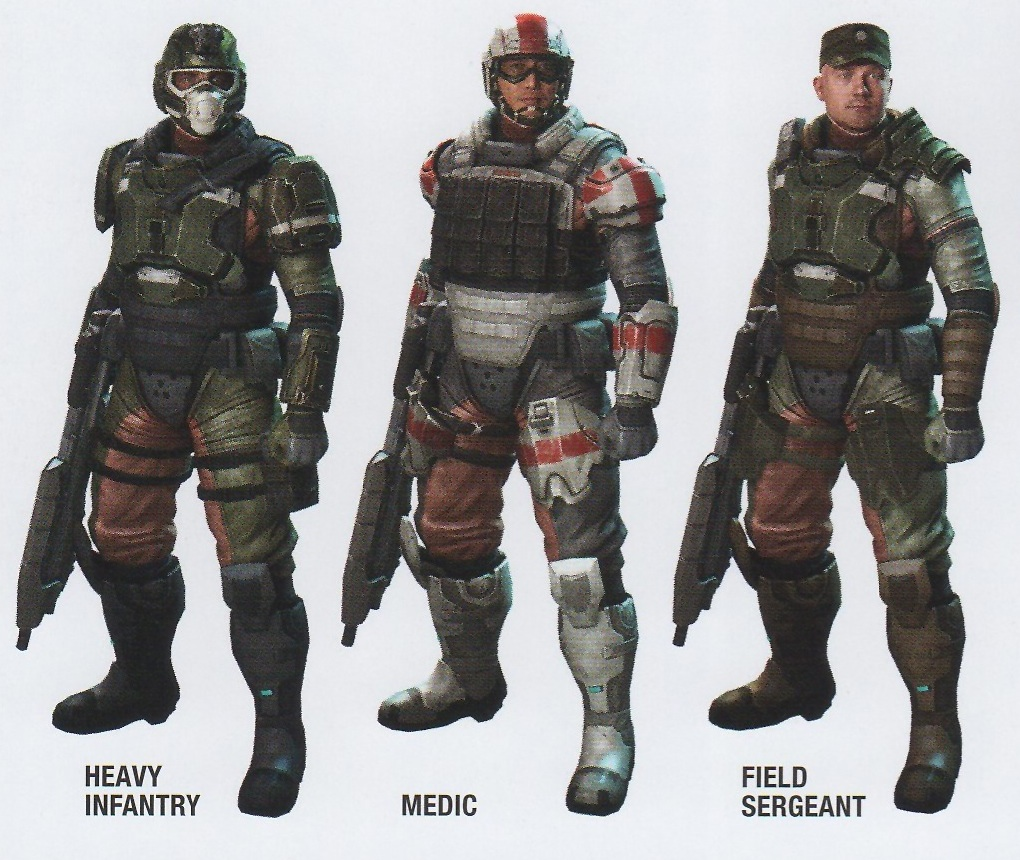 Halo 3 and 4 marines in future halos question | Halo ...