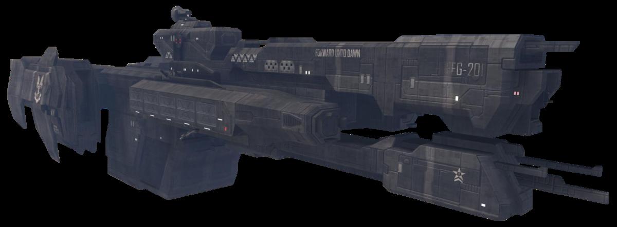UNSC Forward Unto Dawn - Halopedia, the Halo encyclopedia