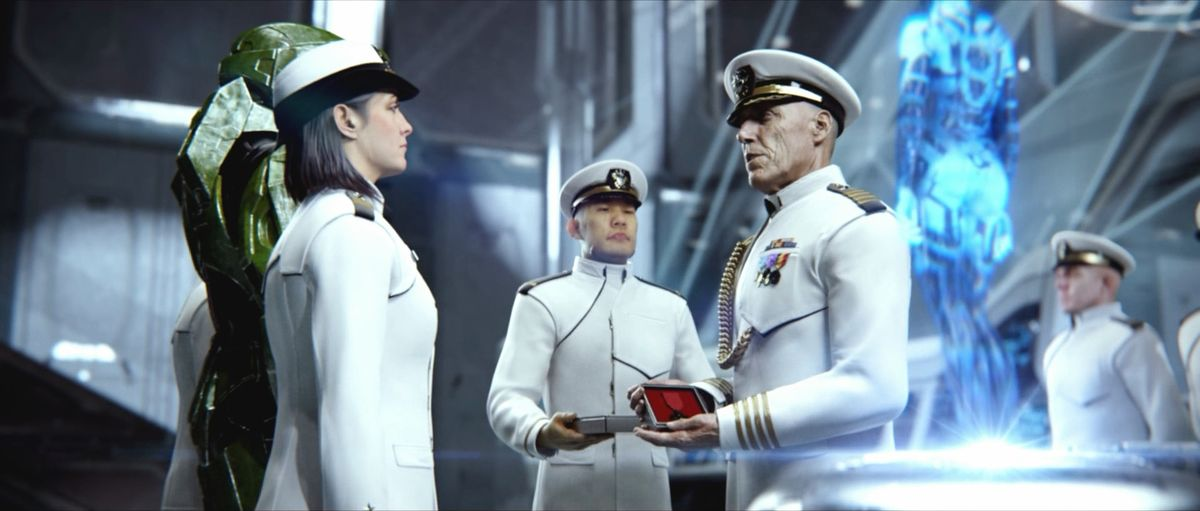 UNSC Navy Dress Uniform Halopedia the Halo encyclopedia
