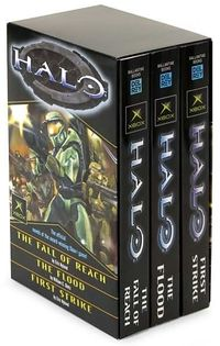 The Halo Box Set, containing the first three Halo novels.