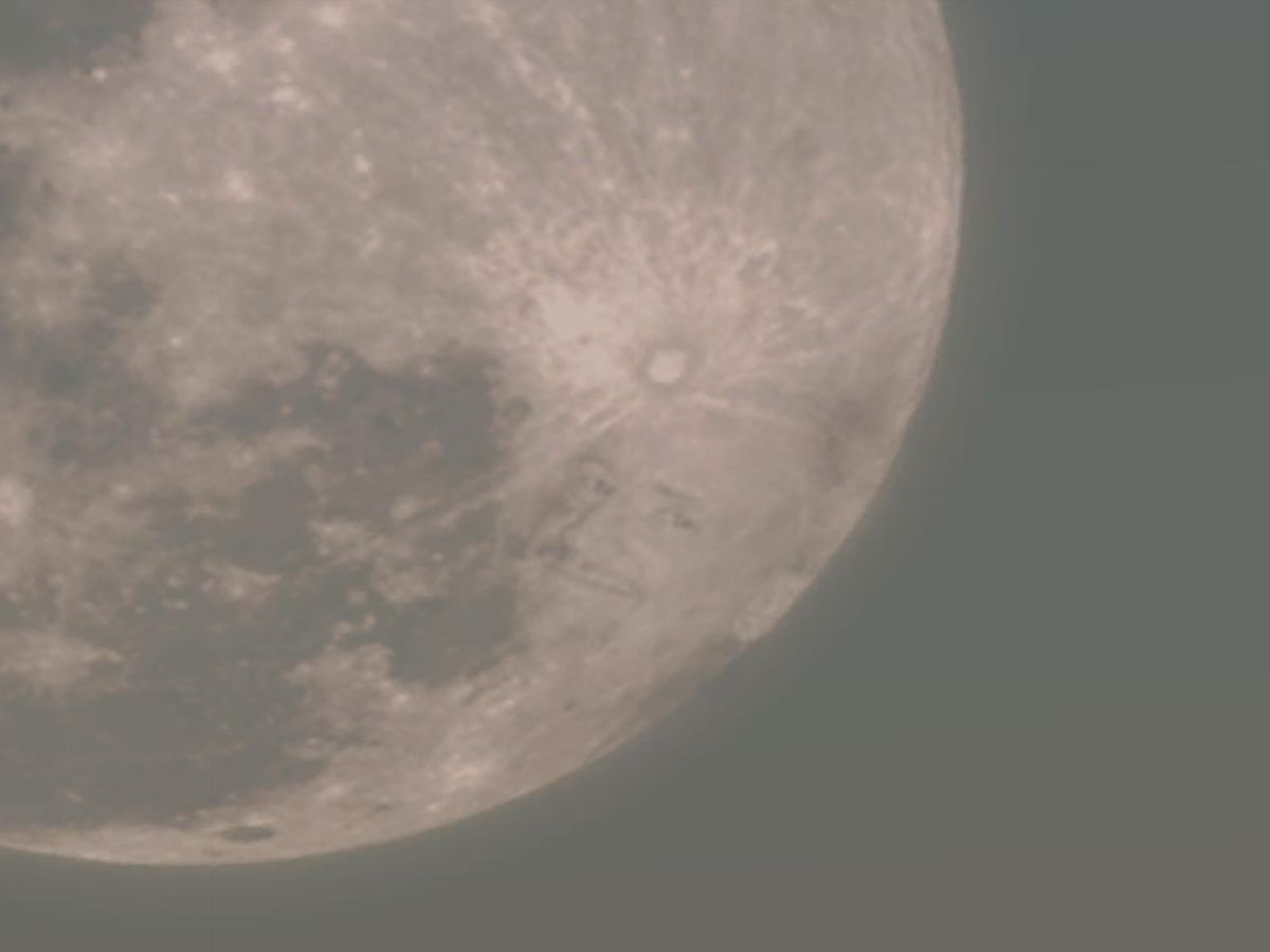 Face On The Moon
