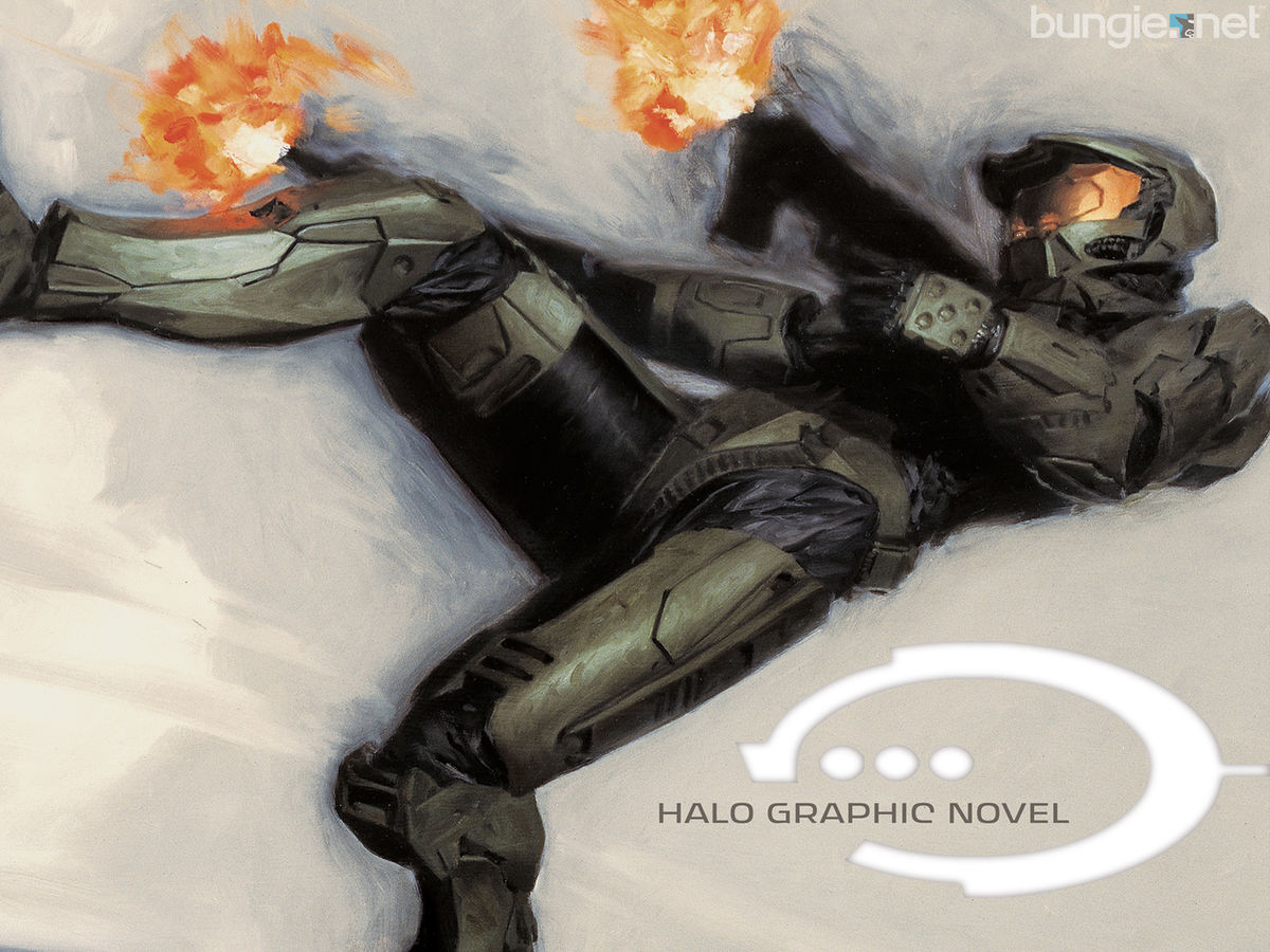 Halo Graphic Novel - Halopedia, the Halo encyclopedia