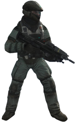A lineup of the ODST armors from Halo 2 through Halo 5 : halo