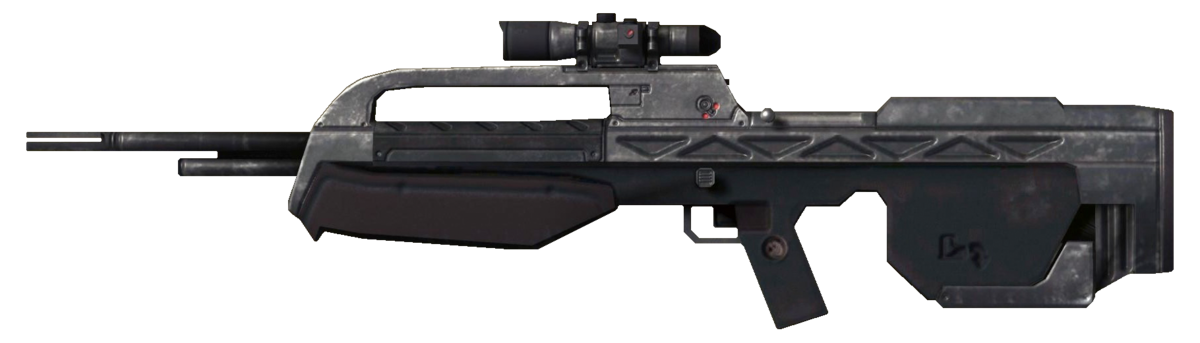 Br55hb Battle Rifle Weapon Halopedia The Halo Wiki