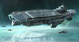 Orion Class Assault Carrier Halopedia The Halo Encyclopedia