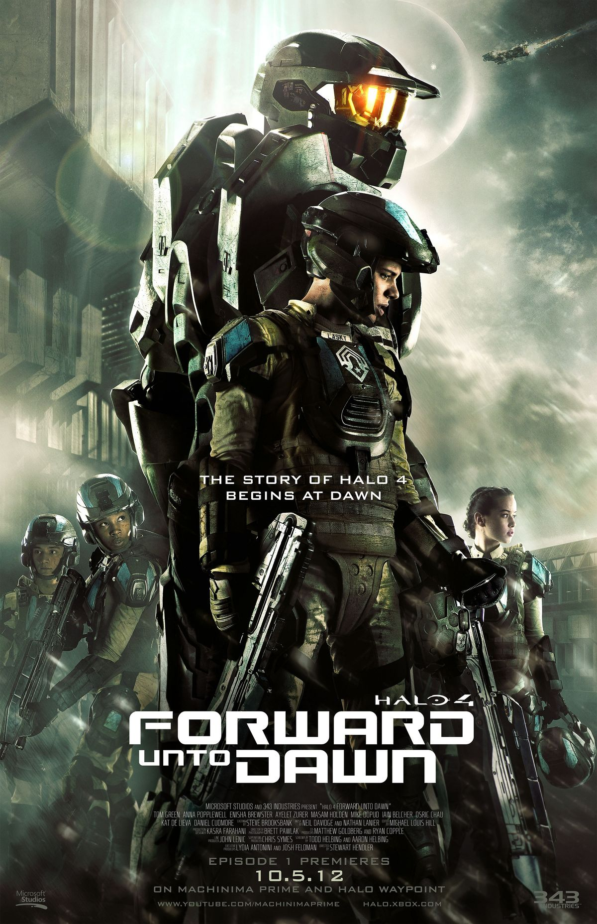 Halo 4 Forward Unto Dawn Film Halopedia The Halo Wiki