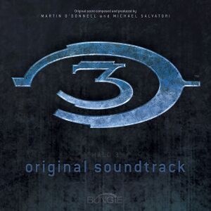 The Halo 3 Soundtrack Cover Art.