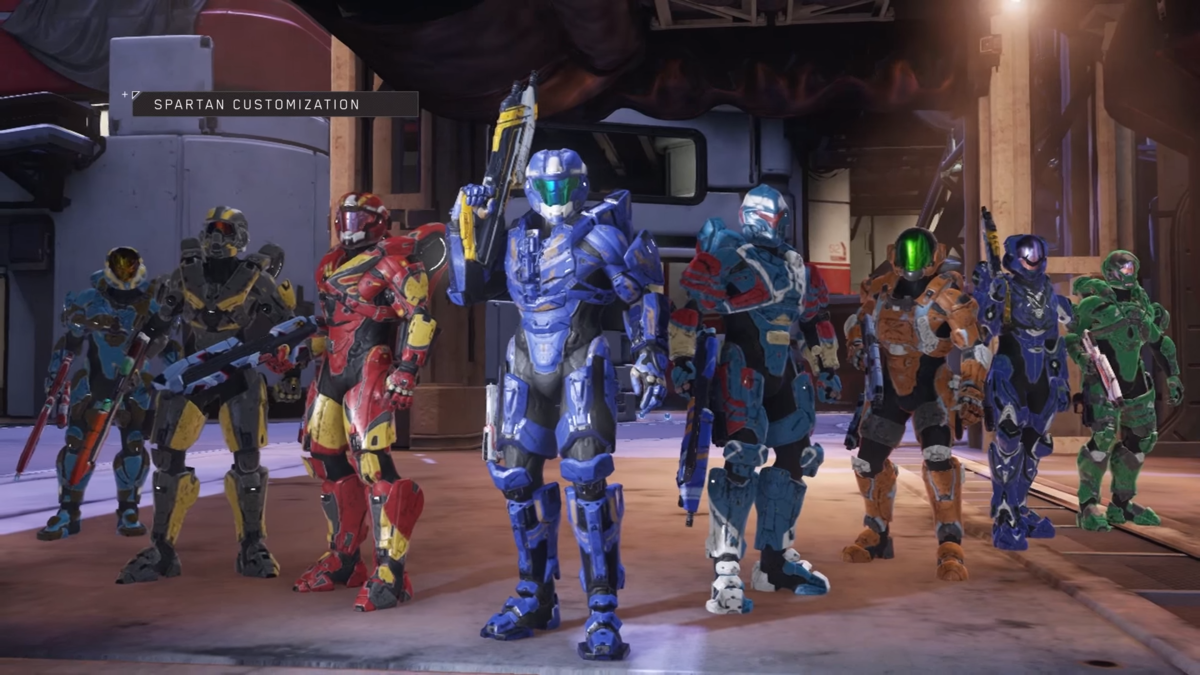 Armor Permutations Halo 5 Guardians Halopedia The Halo Wiki