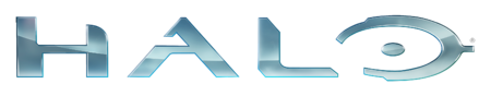 The Halo 4-era Halo logo.